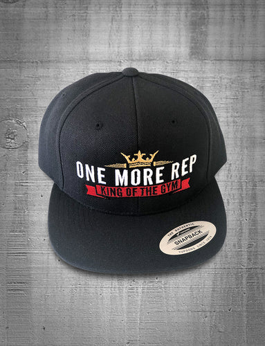 One More Rep King of the Gym Gold Crown Hat