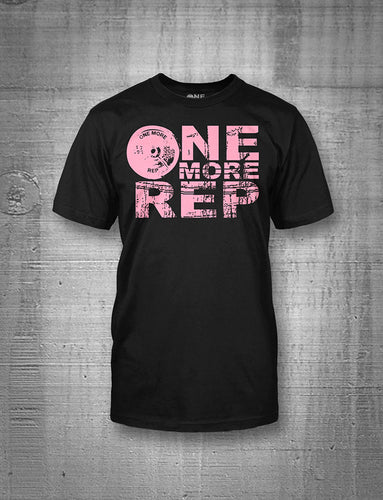 One More Rep Women's Pink Classic Logo Tee