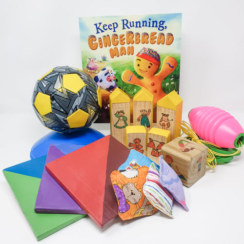 Keep Running, Gingerbread Man Box