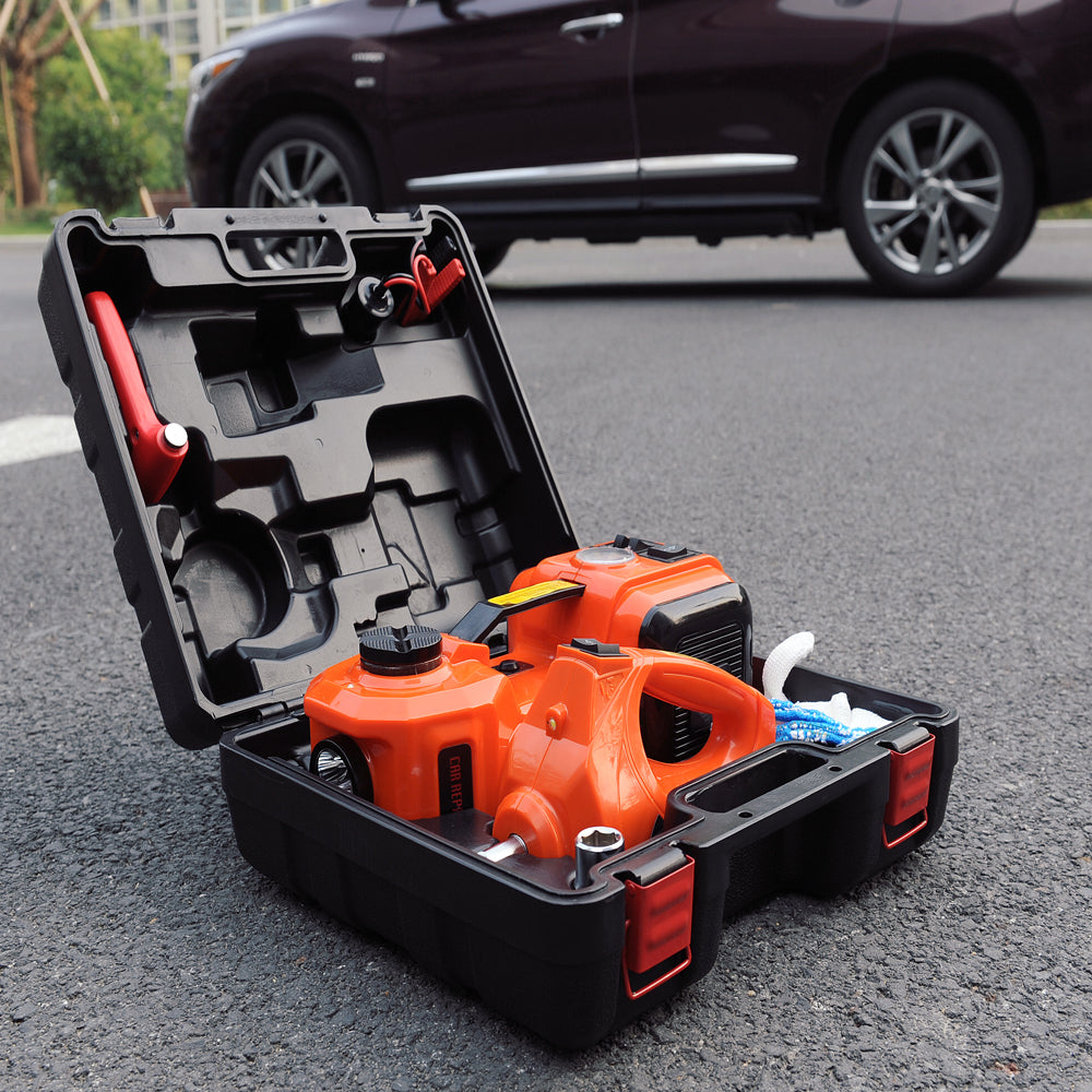 3 In 1 Electric Car Jack Impact Wrench And Tire Inflator Swag Turtle