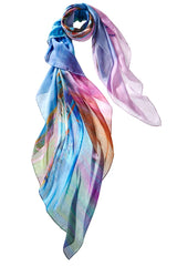 Captiva Cashmere Fine Art Moonshine Scarf Made in Italy