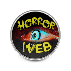 Exclusive HorrorWeb Pin