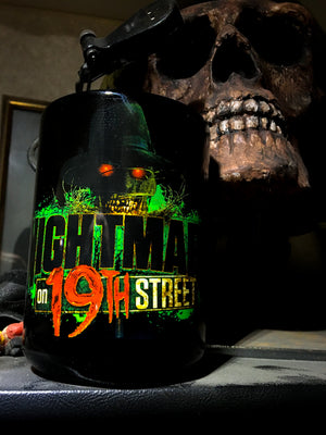 Nightmare on 19th Street 15 oz. Black Mug