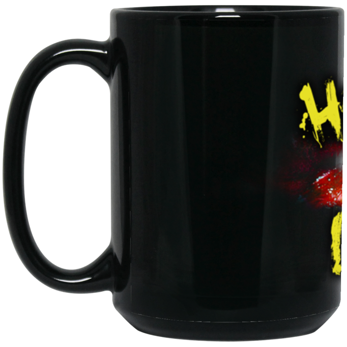 Official HorrorWeb 15 oz. Black Mug