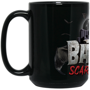 Official Bat City Scaregrounds 15 oz. Black Mug