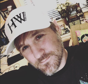 HorrorWeb White Trucker Cap
