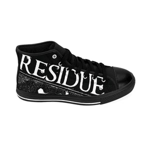 Residue Gas Mask Men's High-top Sneakers