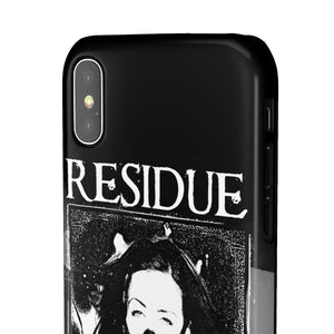 Residue Gas Mask Snap Phone Cases