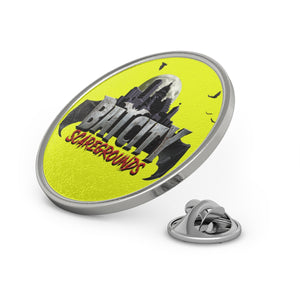 Bat City Scaregrounds Metal Pin