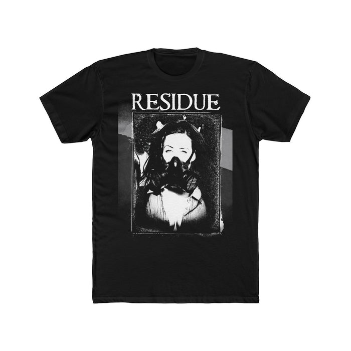Residue Gas Mask - Men's Cotton Crew Tee