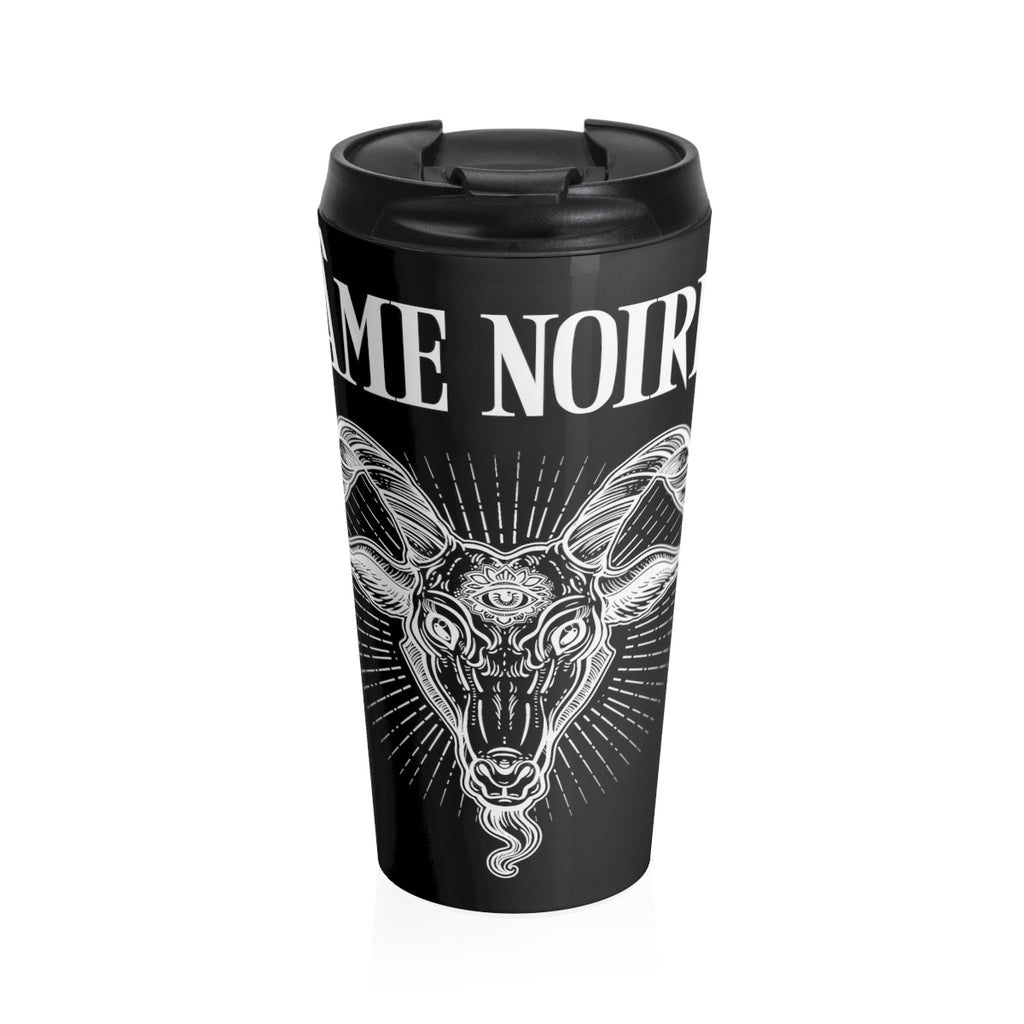 HorrorWeb Ame' Noir Stainless Steel Travel Mug