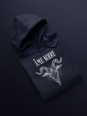 Ame Noire Hooded Sweatshirt (Unisex)