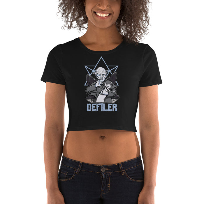 Evil Orlock the Defiler Women's Crop Tee