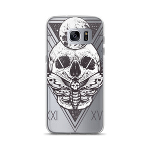 HorrorWeb Cryptic Moth Samsung Case
