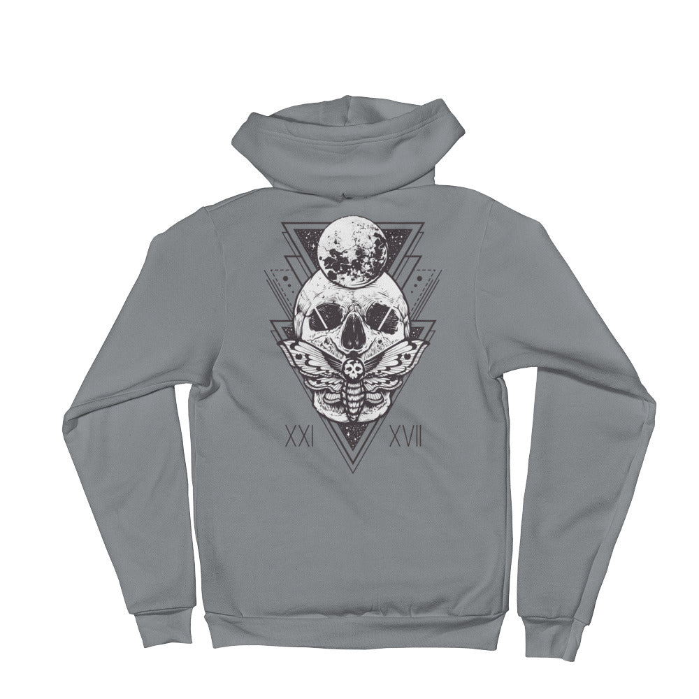 HorrorWeb Cryptic Moth Hoodie sweater