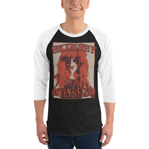 Official Skinsey 3/4 sleeve raglan shirt