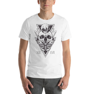 HorrorWeb Cryptic Moth Short-Sleeve Unisex T-Shirt