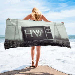 HorrorWeb Beach Towel