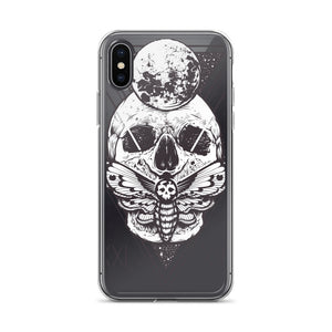HorrorWeb Cryptic Moth iPhone Case