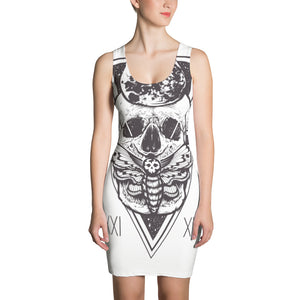 HorrorWeb Cryptic Moth Sublimation Cut & Sew Dress