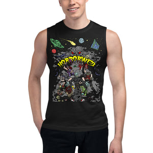 Official HorrorWeb Unisex Muscle Shirt