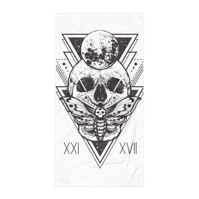 HorrorWeb Cryptic Moth Towel