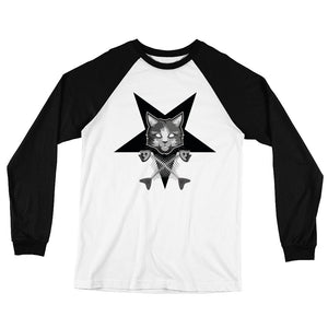 Pentagram Cat Long Sleeve T-Shirt