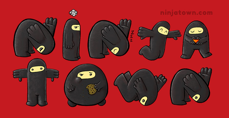Ninjatown Sticker Mega Pack