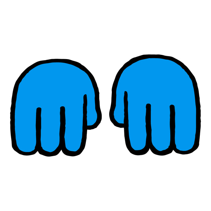 Helping Hands Customizable Art (pair)