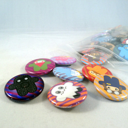 Ninjatown Buttons – Bulk Pack of 50
