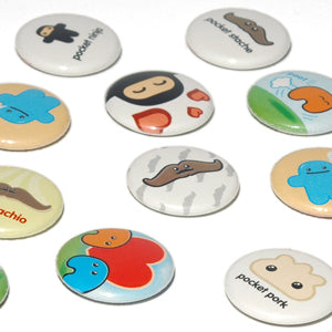 Shawnimals 1-inch button (single)