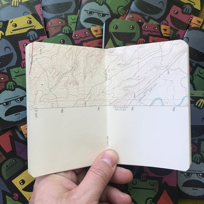 All Shapes pocket journal by Resketch