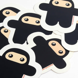 Wee Ninja Vinyl Sticker 5-pack
