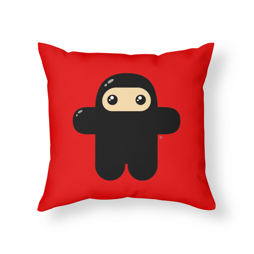 Original Wee Ninja Throw Pillow