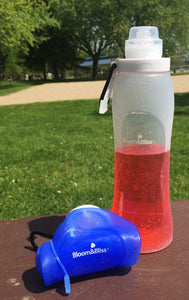 Roll n' Go Silicone Water Bottles