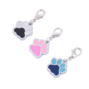 3 colour accessory paw charm