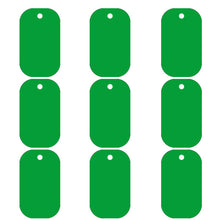 Load image into Gallery viewer, Green Dog Tag  Aluminum Pet ID Tag