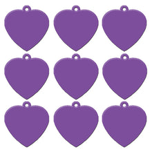 Load image into Gallery viewer, Purple Heart  Aluminum Pet ID Tag