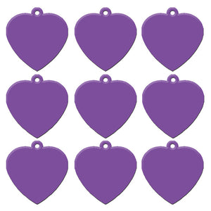 Purple Heart  Aluminum Pet ID Tag