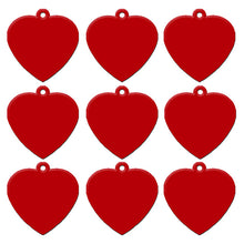 Load image into Gallery viewer, Red Heart  Aluminum Pet ID Tag