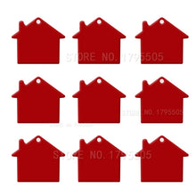 Load image into Gallery viewer, Red House  Aluminum Pet ID Tag