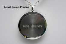 Load image into Gallery viewer, Aroma Therapy Essential Oil Diffuser Necklace - Cat in the Garden