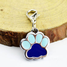 Load image into Gallery viewer, Blue Paw accessory charm