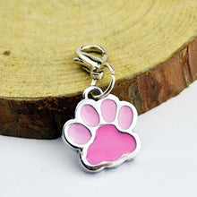 Load image into Gallery viewer, Pink Paw accessory charm