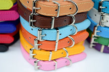Load image into Gallery viewer, Deluxe Leather Dog collar