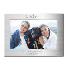 Load image into Gallery viewer, Personalized Metal Picture Frame