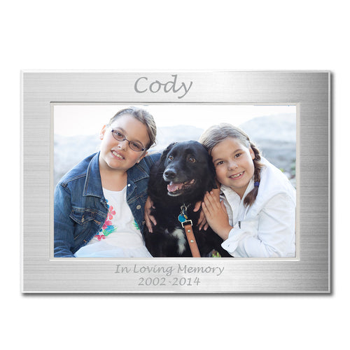Personalized Metal Picture Frame