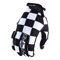 Gants Troy Lee Designs Air Checker Noir Blanc