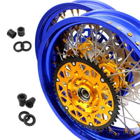 Kit Supermotard Husaberg Blue And Gold