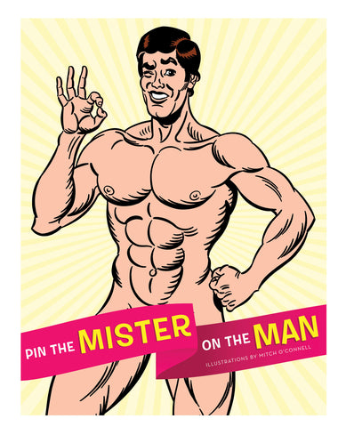 Pin The Mr. On The Man - Includes 16 Very Naughty Misters